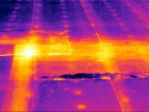 Commercial Roof Leak with FLIR T420
