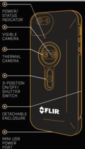 FLIR ONE Parts Diagram