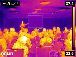 RESNET Conference FLIR E8