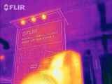 Live Video from FLIR ONE iPhone Thermal Camera