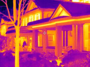 FLIR T420 House Roofs