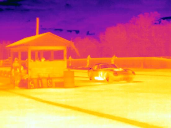 Shelby Daytona Cobra Coupe Infrared