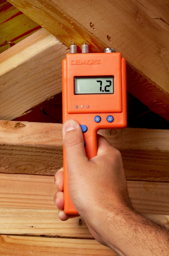 Electrical Resistance Meter : Kill mold by controlling moisture ivy tools