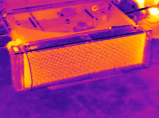 Formula Ford Radiator Infrared