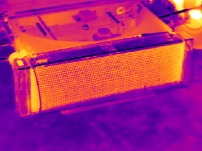 Formula Ford Radiator Infrared