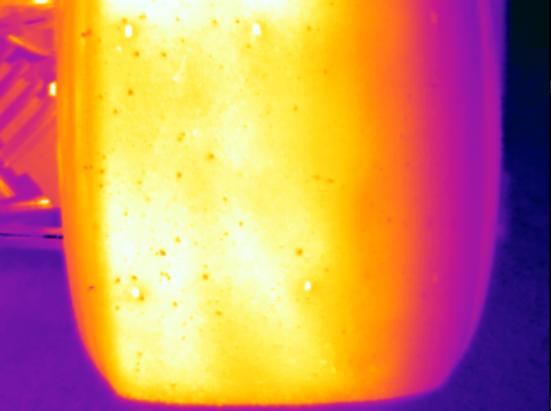 Chevron B19 Rear Tire Infrared