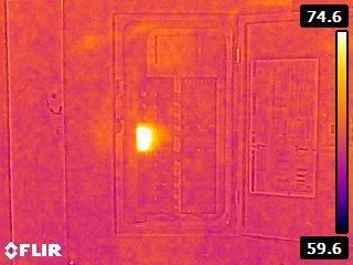FLIR E4 Electrical Inspection