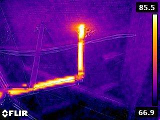 FLIR E40 Electrical Inspection