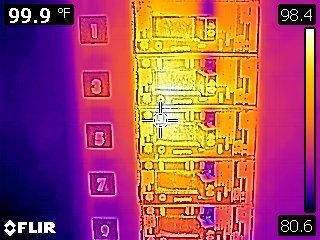 FLIR C2 Thermal Camera Breaker Panel