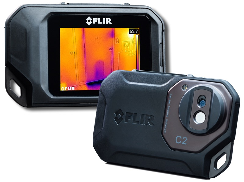 Hands On Review Flir C2 Thermal Camera Ivy Tools Blog
