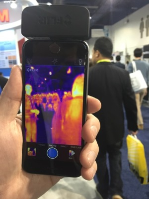 FLIR ONE Infrared CES