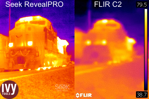 Hands On Review Seek Reveal Pro Thermal Camera Ivy