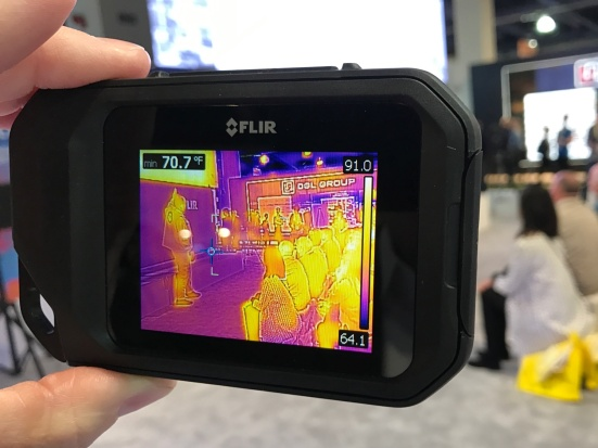 FLIR C3 Thermal Camera at CES