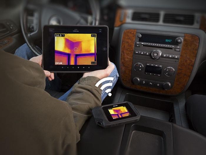 FLIR C3 with iPad